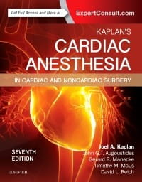 Kaplan's Cardiac Anesthesia, 7th Edition
