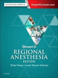 Brown's Regional Anesthesia Review, 1st Edition