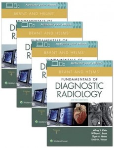 Brant and Helms' Fundamentals of Diagnostic Radiology, 5e 4 vol. set