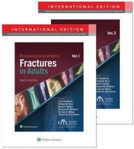 Rockwood and Green's Fractures in Adults Ninth edition, International Edition, 2 Volume
