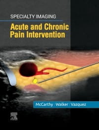 Specialty Imaging: Acute and Chronic Pain Intervention, 1st Edition