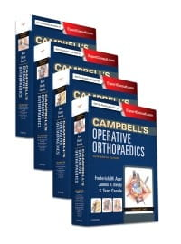 Campbell's Operative Orthopaedics, 4-Volume Set, 13th Edition
