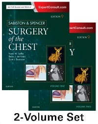 Sabiston and Spencer Surgery of the Chest, 9th Edition 2-Volume Set