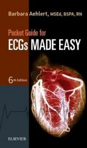 Pocket Guide for ECGs Made Easy, 6th Edition