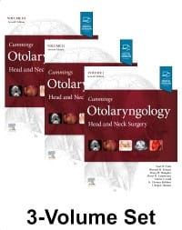 Cummings Otolaryngology, 7th Edition Head and Neck Surgery, 3-Volume Set