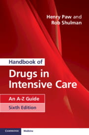 Handbook of Drugs in Intensive Care An A-Z Guide