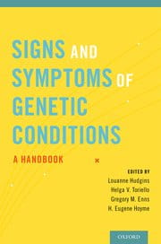Signs and Symptoms of Genetic Conditions  A Handbook