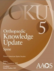 Orthopaedic Knowledge Update: Spine 5 Fifth Edition