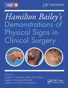 Hamilton Bailey's Physical Signs: Demonstrations of Physical Signs in Clinical Surgery, 19th Edition