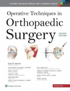 Operative Techniques in Orthopaedic Surgery (4 Vol.), 2e